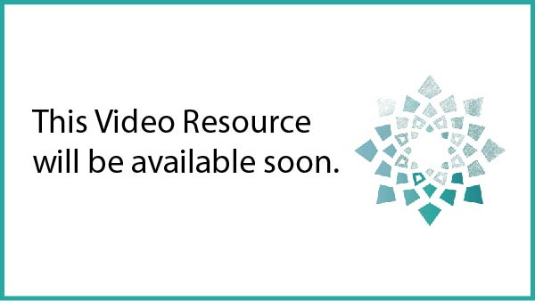 Place holeder for missing video media saying: this Video Resource will be available soon